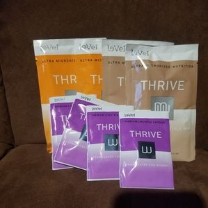 Thrive capsules and shakes